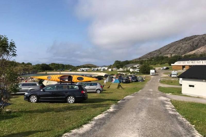 Torghatten Camping surfen