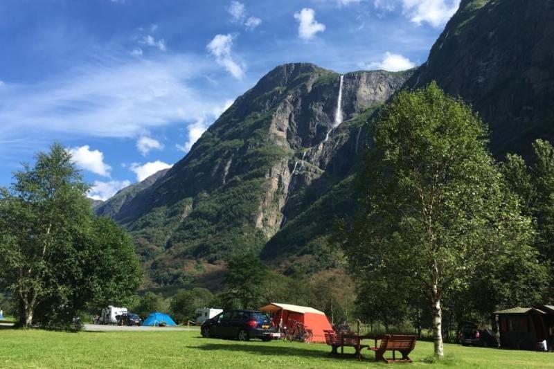 Vang Camping Gudvangen Kampeerplaats