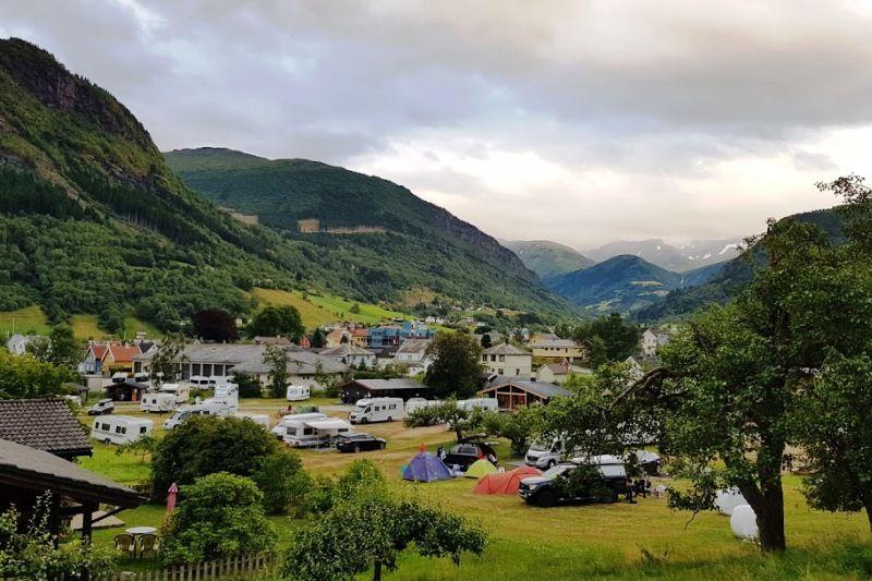 Vik Camping ligging